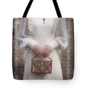 Beaded Handbag Tote Bag by Joana Kruse