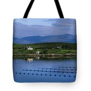 Beara, Co Cork, Ireland Mussel Farm Tote Bag by The Irish Image Collection