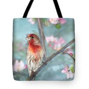 Beautiful Spring Tote Bag by Betty LaRue