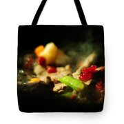 Beef With Vegetables Tote Bag by Rebecca Sherman