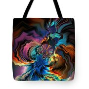 Being Transformed Tote Bag by Claude McCoy