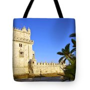 Belem Tower Tote Bag by Carlos Caetano