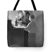 Bertrand Guillaume Carcel, French Tote Bag by Science Source