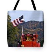Bethlehem Fire Truck - D008199 Tote Bag by Daniel Dempster