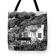 Bewick: Rural House Tote Bag by Granger