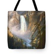 BIERSTADT: YELLOWSTONE Tote Bag by Granger