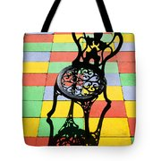 Black Iron Chair Tote Bag by Garry Gay