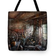 Blacksmith - That's A Lot Of Hoopla Tote Bag by Mike Savad
