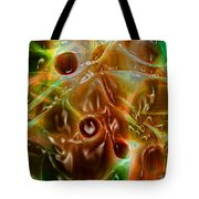 Blood Work Tote Bag by Peter Piatt