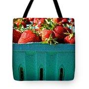 Blue Box Tote Bag by Susan Herber