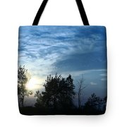 Blue Canvas Sky 03 Tote Bag by Aimelle