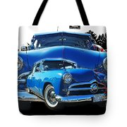 Blue Classic Dbl.hdr Tote Bag by Randy Harris