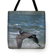 Blue On The Beach Tote Bag by David Lane