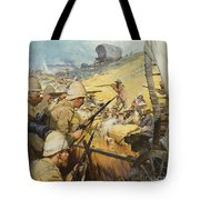 Boer War Skirmish Tote Bag by James Edwin McConnell