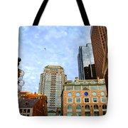 Boston Downtown Tote Bag by Elena Elisseeva