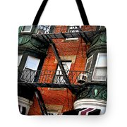 Boston house fragment Tote Bag by Elena Elisseeva