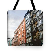 Boston Street Tote Bag by Elena Elisseeva
