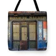 Boucherie Marjolin Tote Bag by Andrew Fare