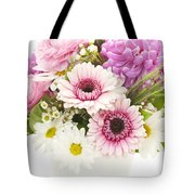 Bouquet Of Flowers Tote Bag by Elena Elisseeva