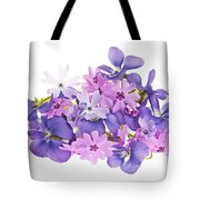 Bouquet Of Spring Flowers Tote Bag by Elena Elisseeva
