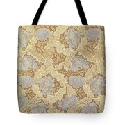 Bower Wallpaper Design Tote Bag by William Morris
