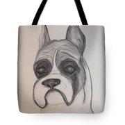 Boxer Tote Bag by Maria Urso