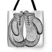 Boxing Gloves, C1900 Tote Bag by Granger