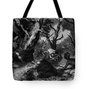 Braddocks Defeat, French And Indian Tote Bag by Photo Researchers