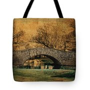 Bridge From The Past Tote Bag by Nishanth Gopinathan