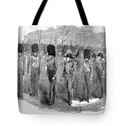 Britain: Fusiliers, 1854 Tote Bag by Granger