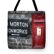 British Mail Box Tote Bag by Adrian Evans