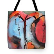 Broken And Blue Heart Tote Bag by Gary Smith