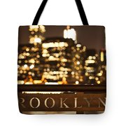 Brooklyn Bubbly Tote Bag by Andrew Paranavitana