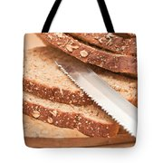 Brown Bread Tote Bag by Tom Gowanlock