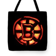 Bruins Carved Pumpkin Tote Bag by Lloyd Alexander