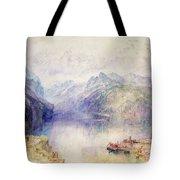 Brunnen Tote Bag by Joseph Mallord William Turner