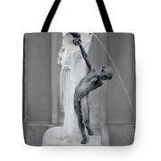Brunnenbuberl - Boy At The Fountain -  Munich Germany Tote Bag by Christine Till