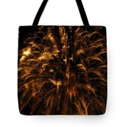 Brushed Gold Tote Bag by Rhonda Barrett