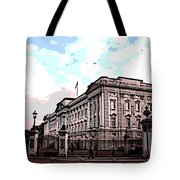 Buckingham Palace Tote Bag by George Pedro