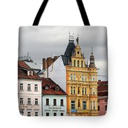 Budweis - Pearl Of Bohemia - Czech Republic Tote Bag by Christine Till