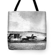 BUFFALO HUNT, 1841 Tote Bag by Granger