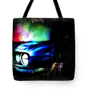 Burn Out Tote Bag by Adam Vance