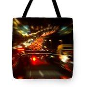 Busy Highway Tote Bag by Carlos Caetano