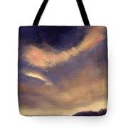 Butterfly Clouds Tote Bag by Antonia Myatt