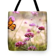 Butterfly - Monarach - The Sweet Life Tote Bag by Mike Savad