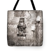 By the Sea in Brown Tote Bag by Betty LaRue