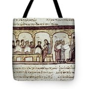 Byzantine Philosophy School Tote Bag by Granger