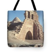 Byzantine Ruins Tote Bag by Photo Researchers, Inc.