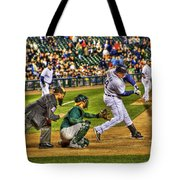 Cabrera Grand Slam Tote Bag by Nicholas  Grunas