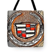 Cadillac Tote Bag by Cheryl Young